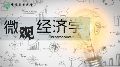 微观经济学(中国农业大学)