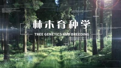 林木育种学(东北林业大学)
