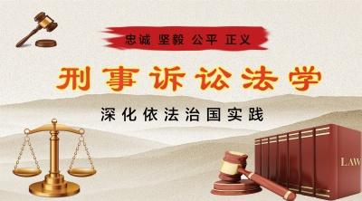 刑事诉讼法学(山东联盟)