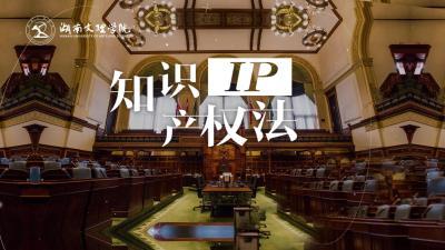 知识产权法(湖南文理学院)