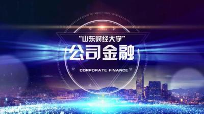公司金融(山东联盟)