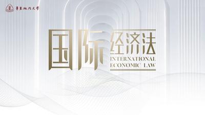 国际经济法(华东政法大学)