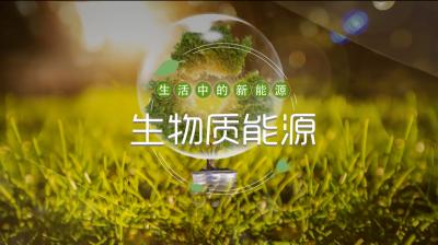 生活中的新能源-生物质能源