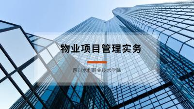 物业项目管理实务