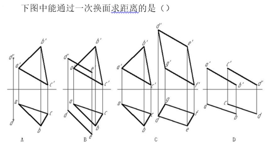 2021知到答案 工程制图(中国石油大学(华东)版) 完整智慧树网课章节测试答案
